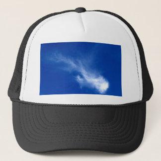 schöner Himmel und Wolke Truckerkappe