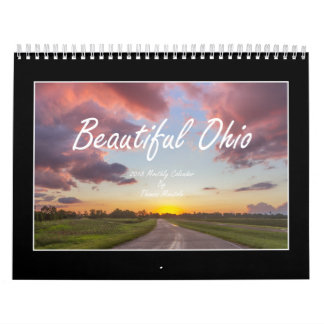 Schöner Kalender Ohios 2018 durch Thomas Minutolo