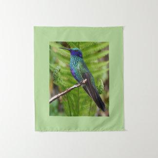 Schöner Kolibri Wandteppich