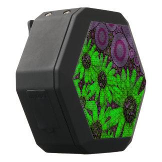 Schöner Lavendel-Leuchtstoffsonnenblumen Schwarze Bluetooth Lautsprecher