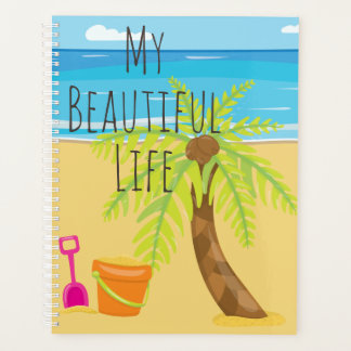 Beautiful Life Beach Scene Planner