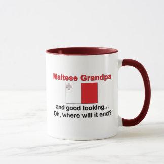 Schöner maltesischer Großvater Tasse