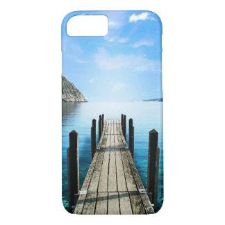 Schöner Meerblick-hellblaues grünes Wasser iPhone 8/7 Hülle