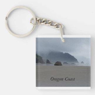Schöner Oregon-Küsten-Umarmungs-Punkt Keychain Schlüsselanhänger