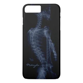Schöner, personalisierter Körper-Röntgenstrahl iPhone 7 Plus Hülle