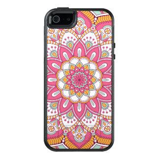 Schöner rosa Blumen-Entwurf OtterBox iPhone 5/5s/SE Hülle