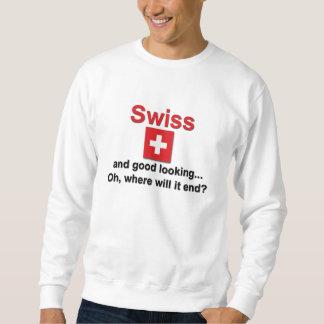 Schöner Schweizer Sweatshirt