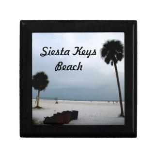 Schöner Siesta befestigt Strand Schmuckschachtel