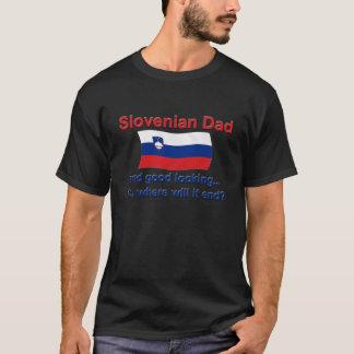 Schöner slowenisch Vati T-Shirt