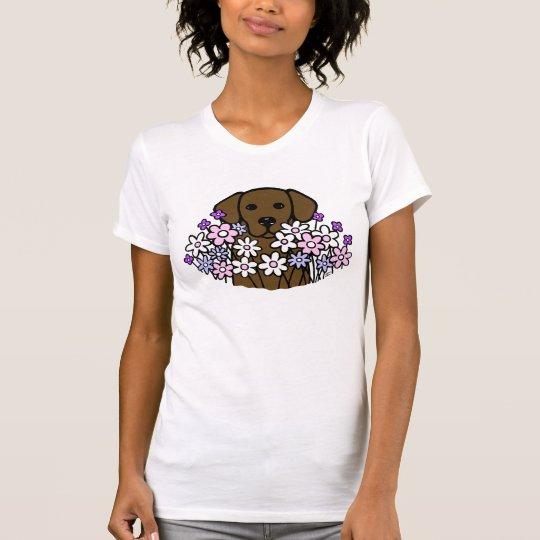 Schöner Soul-Schokoladen-Labrador-T - Shirt