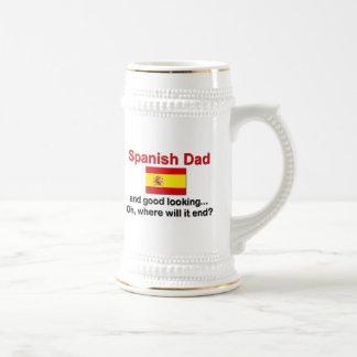 Schöner spanischer Vati Bierglas