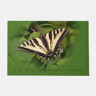 Schöner Western-Tiger-Frack-Schmetterling Türmatte