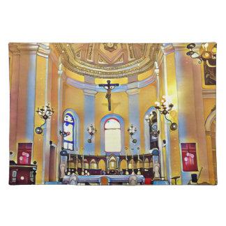 Schönes altes künstlerisches Schongebiet San Juan Tischset