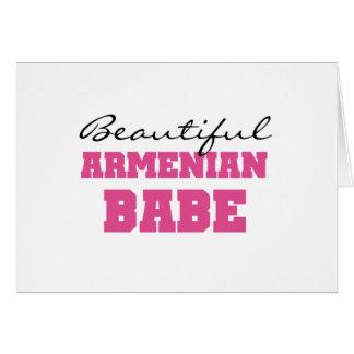 Schönes armenisches Baby Karte