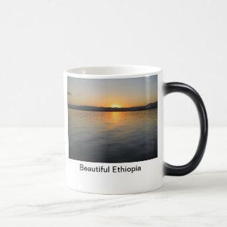 Schönes Äthiopien Verwandlungstasse