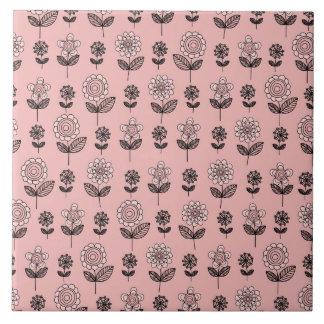 Schönes Blumen-Muster Keramikfliesen