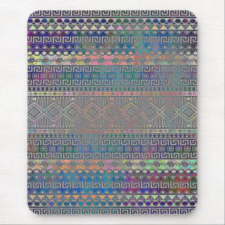 Schönes cooles buntes aztekisches geometrisches mauspads