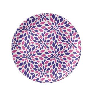 Schönes dekoratives Porzellan-Platte  Teller