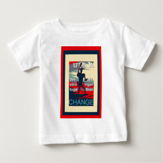Schönes fantastisches feminin sind wir zusammen baby t-shirt
