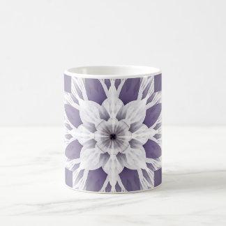 Schönes lila Fraktal Tasse