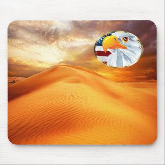 Schönes Mousepad mit Natur Motiv und Eagle