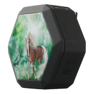 Schönes Pferd im Märchenland Schwarze Bluetooth Lautsprecher