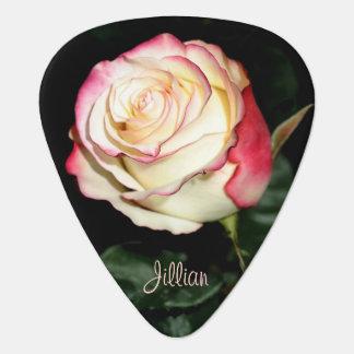 Schönes Rosen-Plektrum Plek