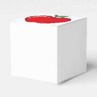 Schönes rotes Apple tragen Früchte Geschenkschachtel