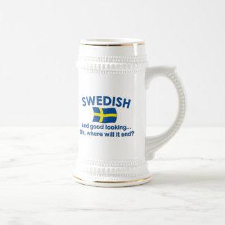 Schönes Schwede… Bierglas