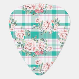 Schönes Vintages Blumen-Rosen-Muster Plek