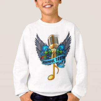 Schönes Wahrheits-Mikrofon und Anmerkung Sweatshirt