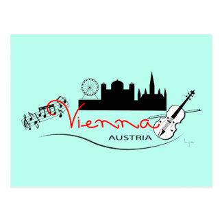 Schönes Wien, Österreich Postkarte