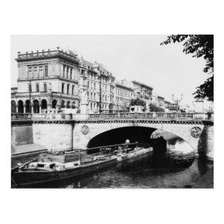 Schönheit-Alliance überbrücken, Berlin, c.1910 Postkarte