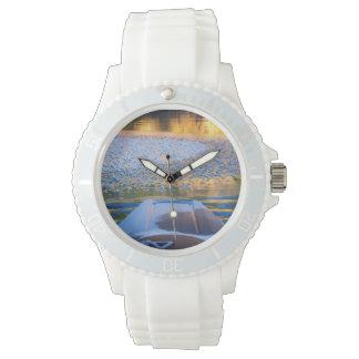 Schönheit auf Eis Armbanduhr