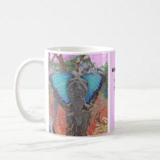 Schönheit des Elefanten Kaffeetasse