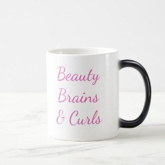 Schönheit, Gehirne u. Locken-Tasse Verwandlungstasse