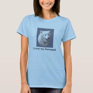 Schönheit, i-Liebe mein Samoyed T-Shirt