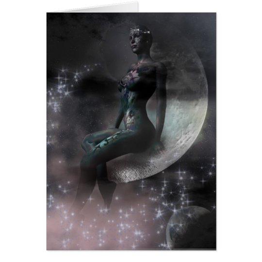 Schönheit im Mond Karte