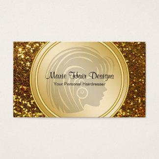 Schönheits-Haar-Visitenkarten Visitenkarten
