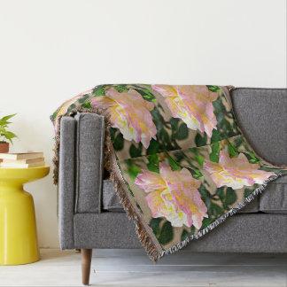 Schönheits-Rosethrow-Decke Decke