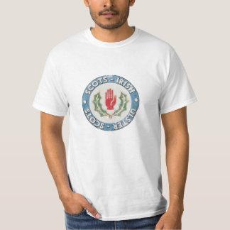 Schotte-Irisch/Ulster-Schotten (beunruhigter T-Shirt
