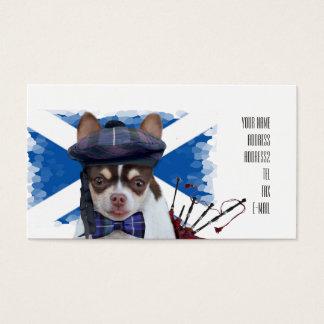 Schottische ChihuahuahundeVisitenkarten Visitenkarte