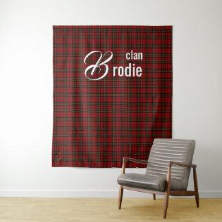 Schottische Clan Brodie Wand-Tapisserie Wandteppich
