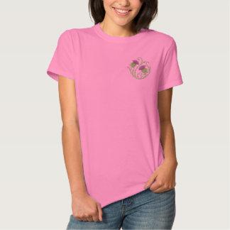 Schottische Distel Besticktes T-Shirt