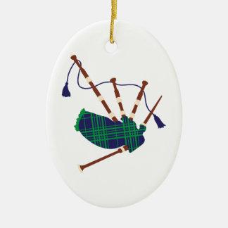 Schottische Dudelsäcke Keramik Ornament