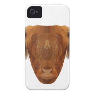 Schottische Hochland-Vieh-Schottland-Tier-Kuh iPhone 4 Etuis