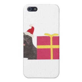 Schottische Terrier-Weihnachtsmannmütze Schutzhülle Fürs iPhone 5