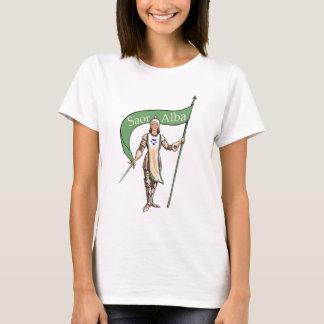 Schottische Unabhängigkeit feministisches Saor T-Shirt