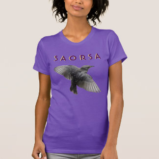 Schottische Unabhängigkeit gälisches Saorsa T-Shirt
