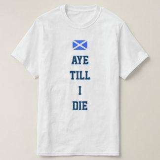Schottische Unabhängigkeit ja T-Shirt